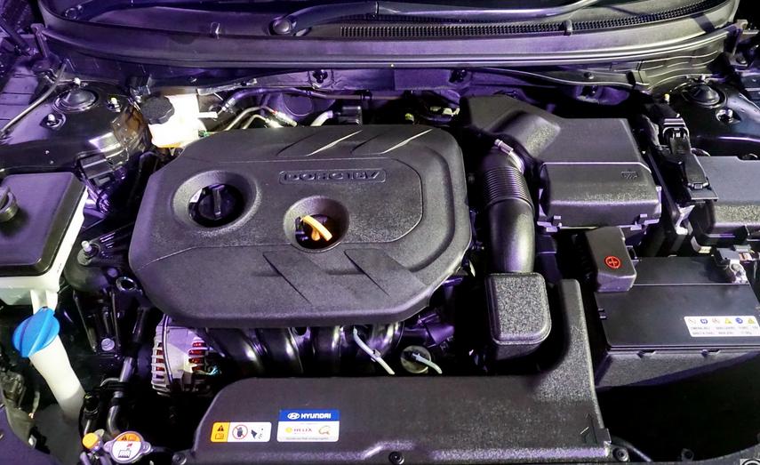 2020 Hyundai Sonata Hybrid Engine