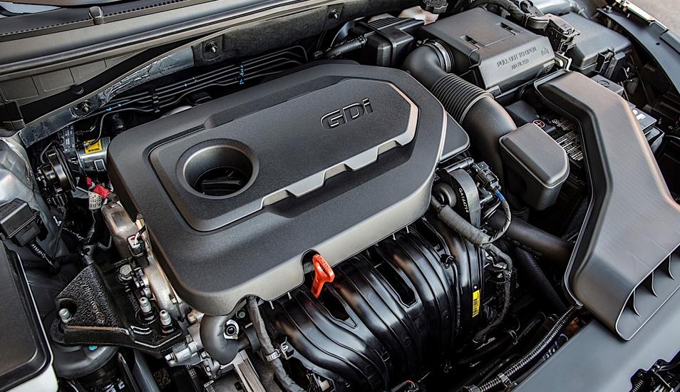 2020 Hyundai Sonata Limited Engine