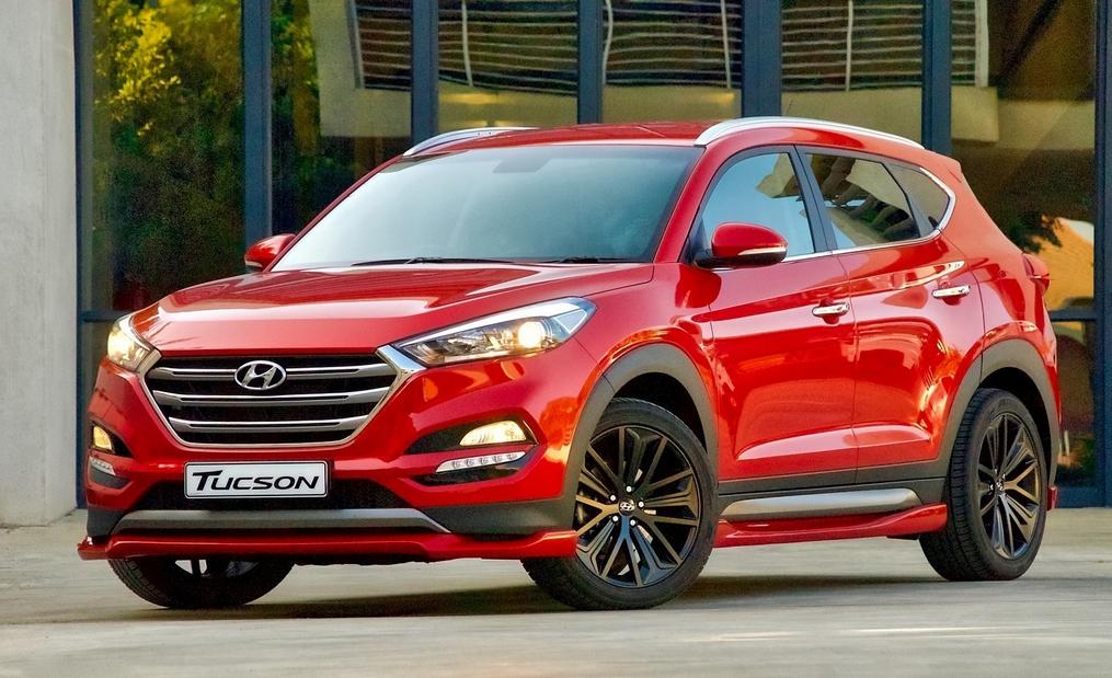 2020 Hyundai Tucson N Exterior