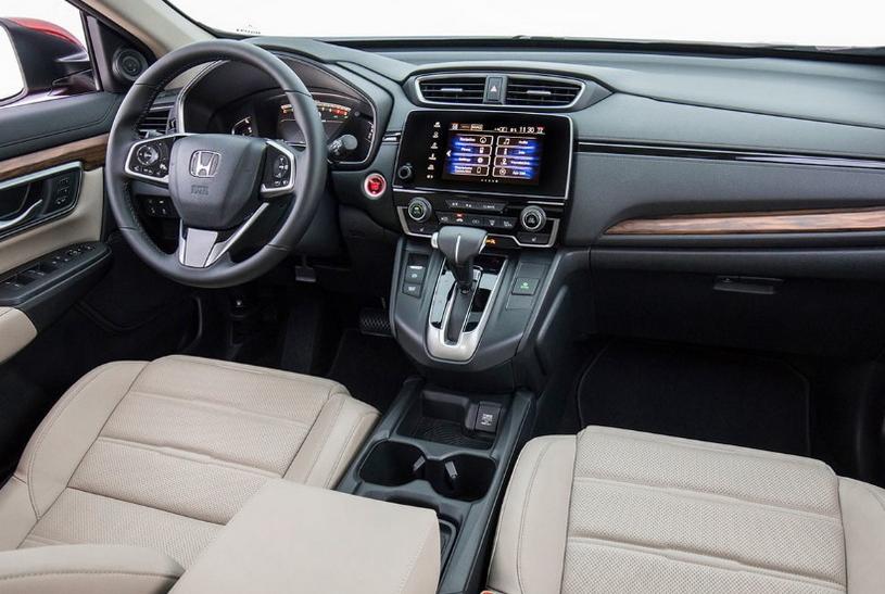 2021 Honda CRV Redesign Interior