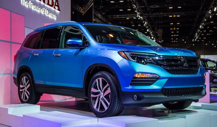 2021 Honda Pilot Redesign Exterior