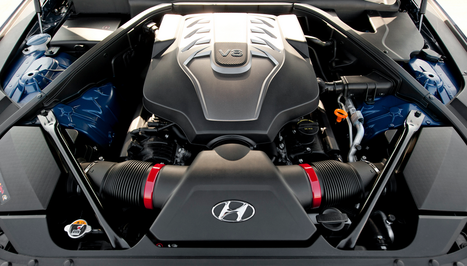 2021 Hyundai Genesis Engine