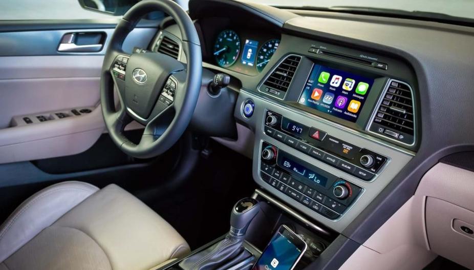 2021 Hyundai Sonata Interior
