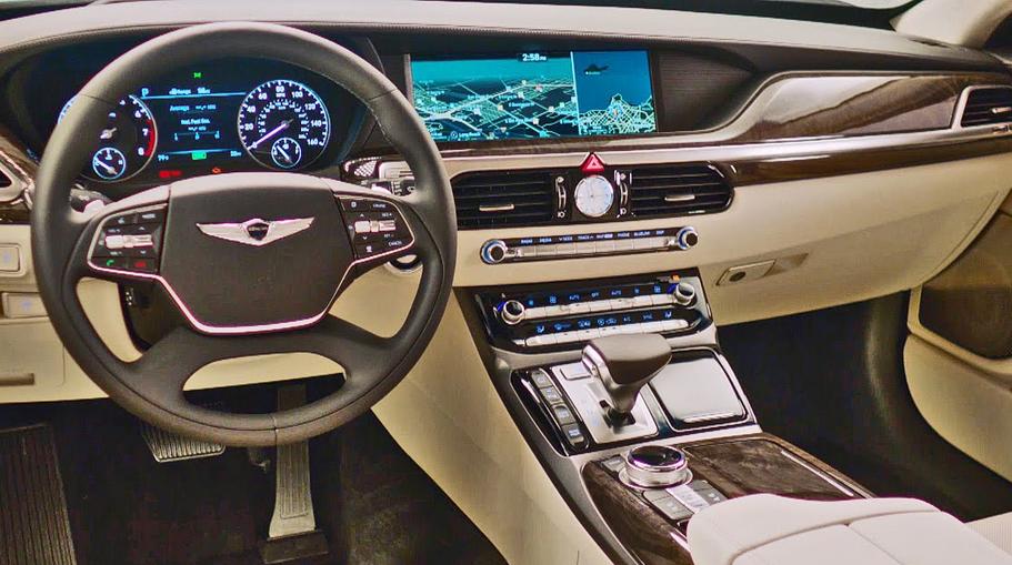 Hyundai Genesis 2020 Interior