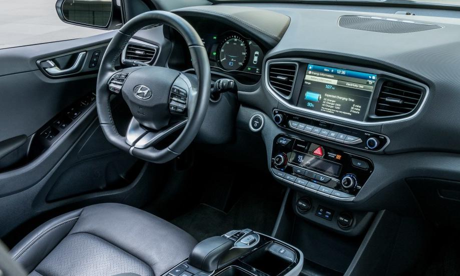 Hyundai Ioniq Electric 2020 Interior