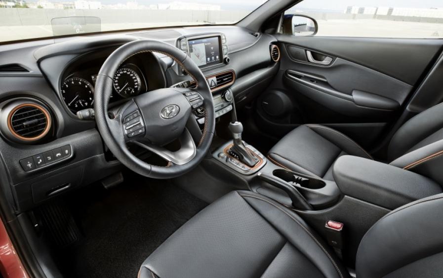 Hyundai Kona 2020 Interior