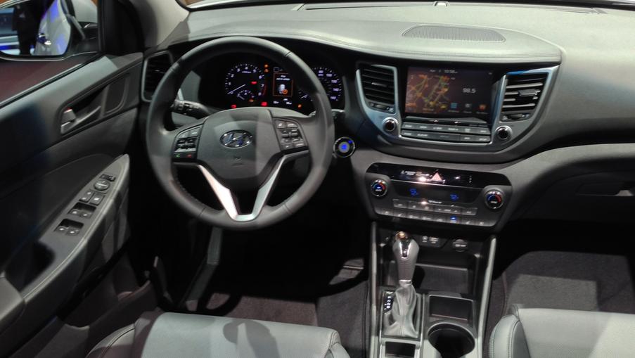 Hyundai Tucson 2021 Interior