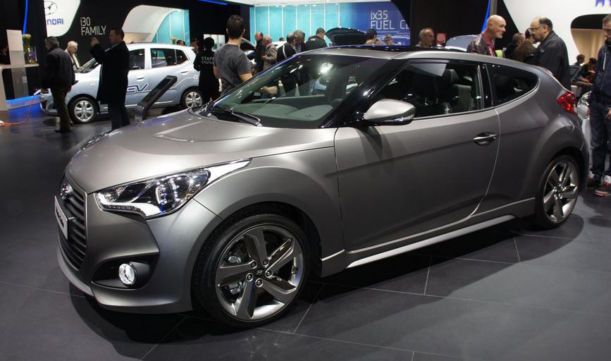 Hyundai Veloster 2020 Exterior