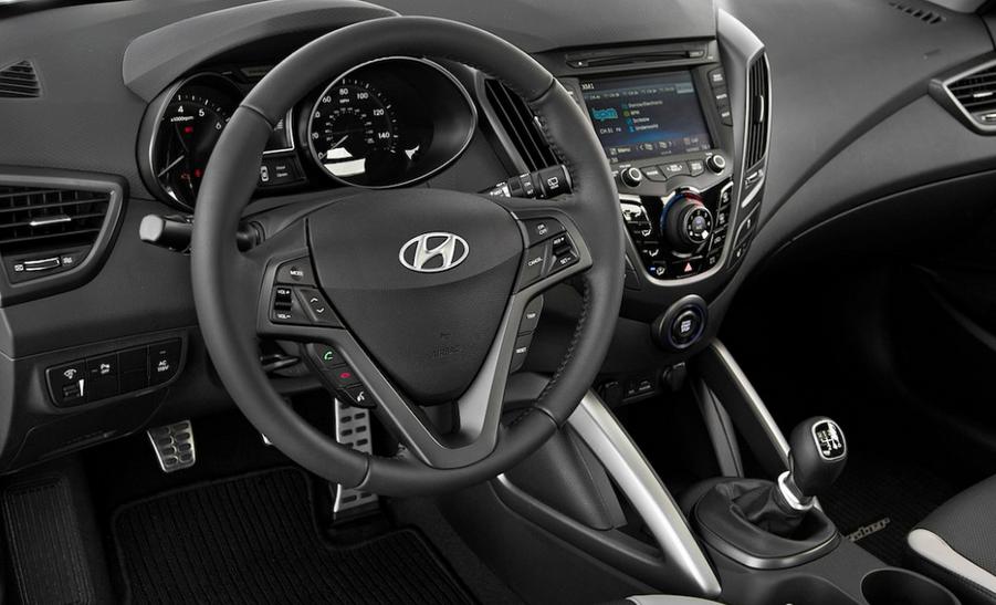 Hyundai Veloster 2020 Interior