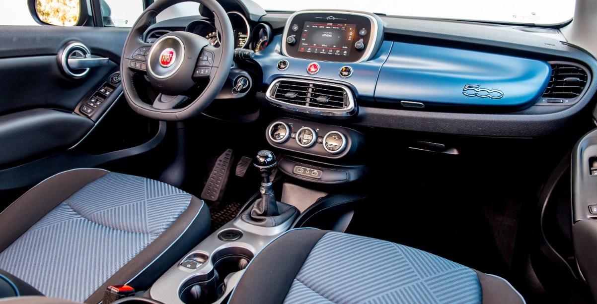 2019 Fiat 500X Interior