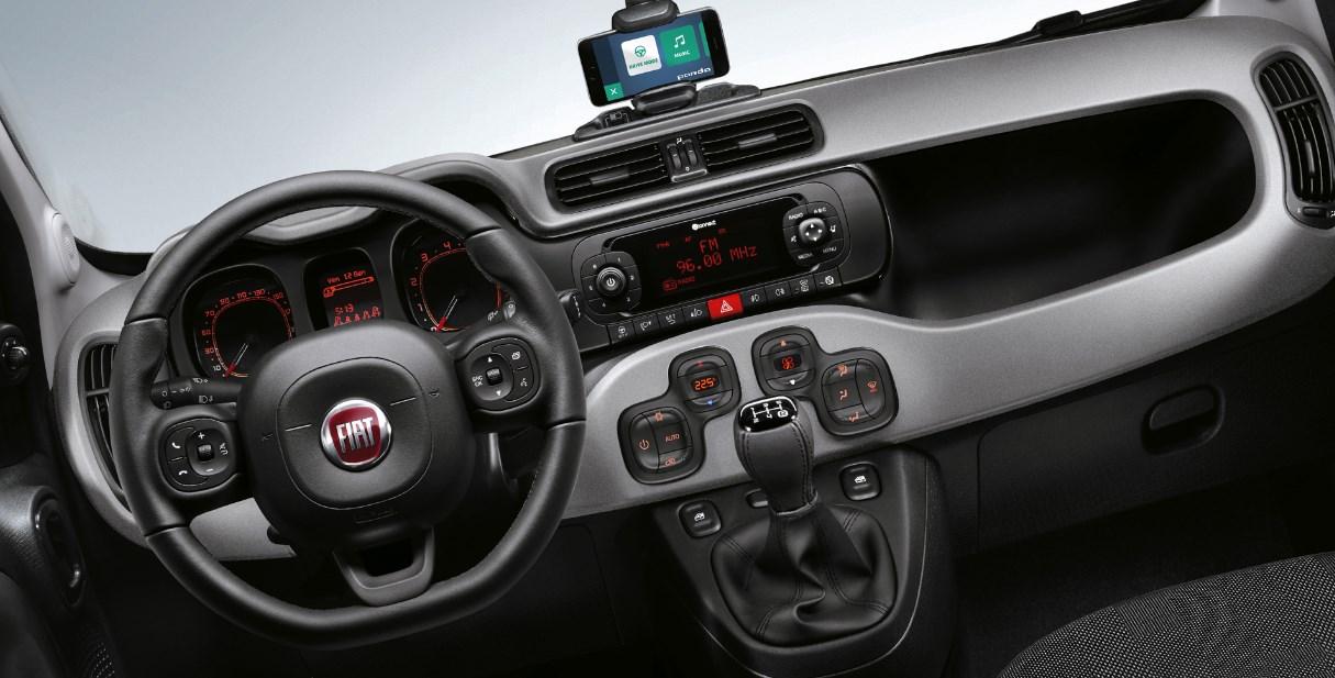 New 2019 Fiat Panda Interior