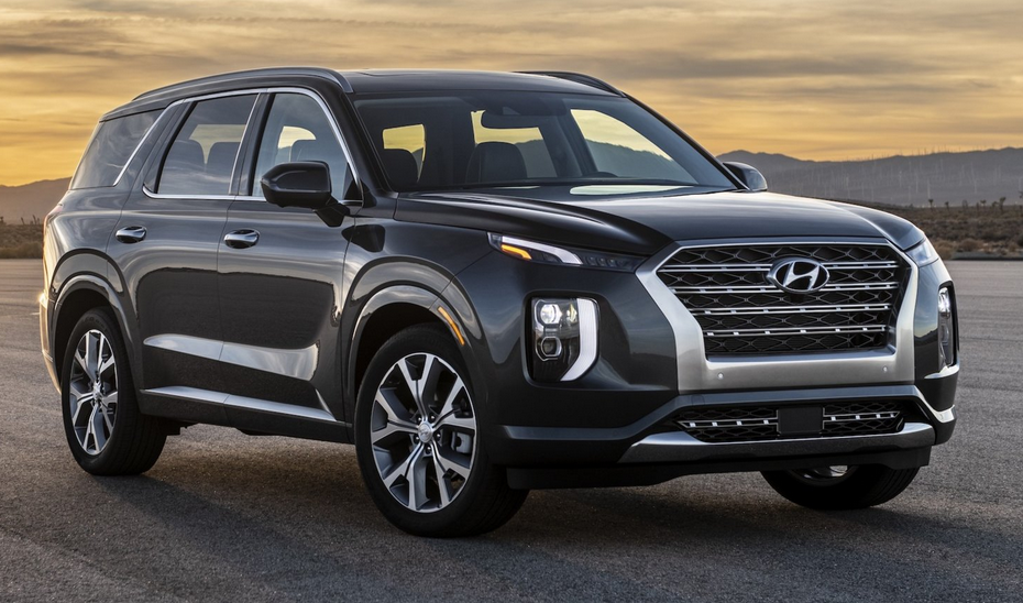 New 2020 Hyundai SUV Exterior