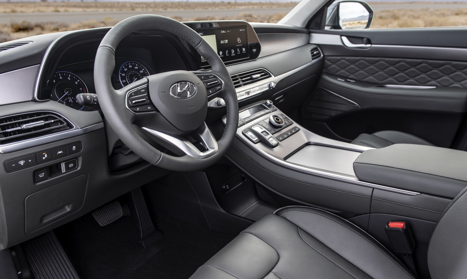 New 2020 Hyundai SUV Interior