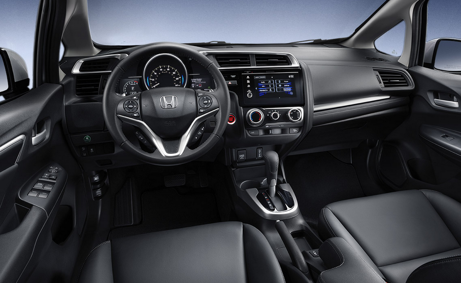Novo Honda Fit 2020 Interior