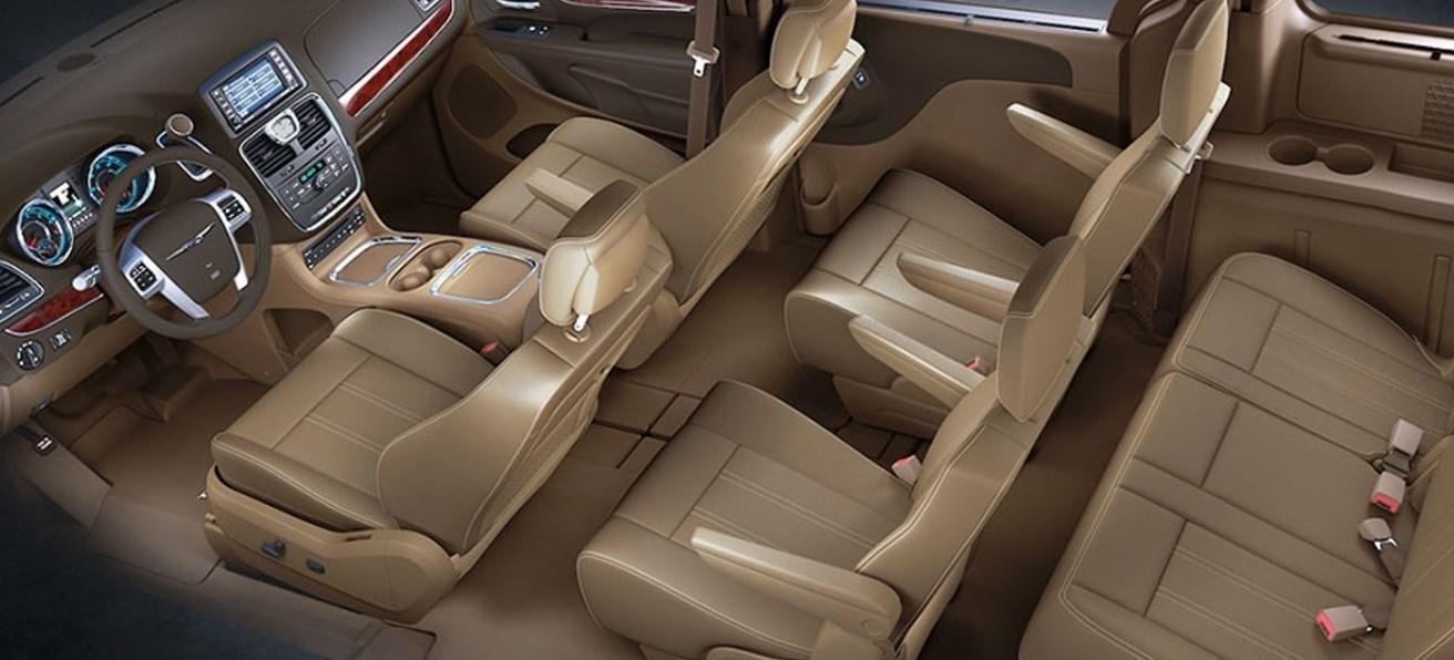 2019 Chrysler Caravan Interior
