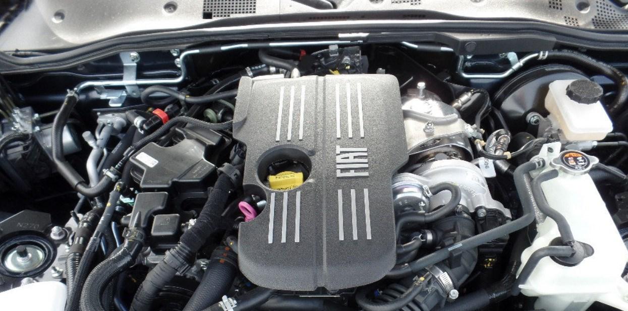 2019 Fiat 124 Spider Engine