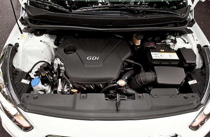 2019 Hyundai Accent Hatchback Engine