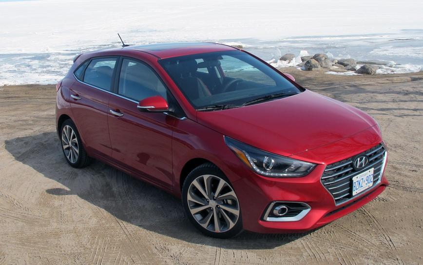 2019 Hyundai Accent Hatchback Exterior
