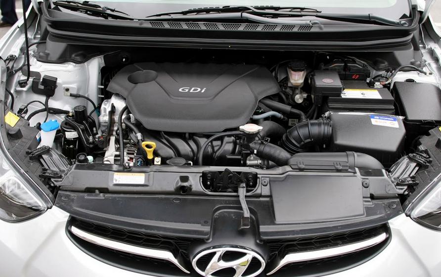 2019 Hyundai Accent Limited Engine