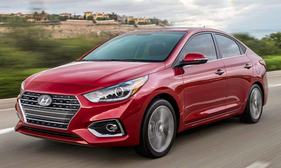 2019 Hyundai Accent Limited Exterior