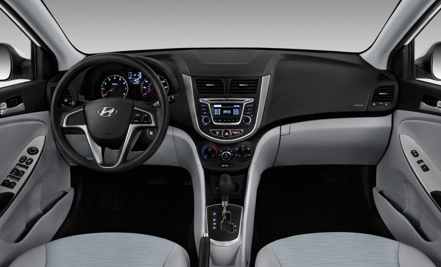 2019 Hyundai Accent Limited Interior