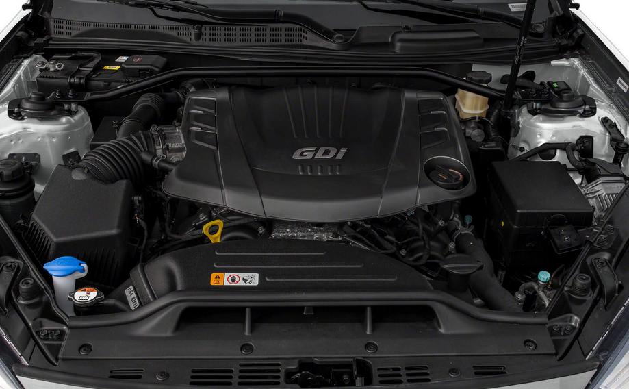 2019 Hyundai G70 Engine