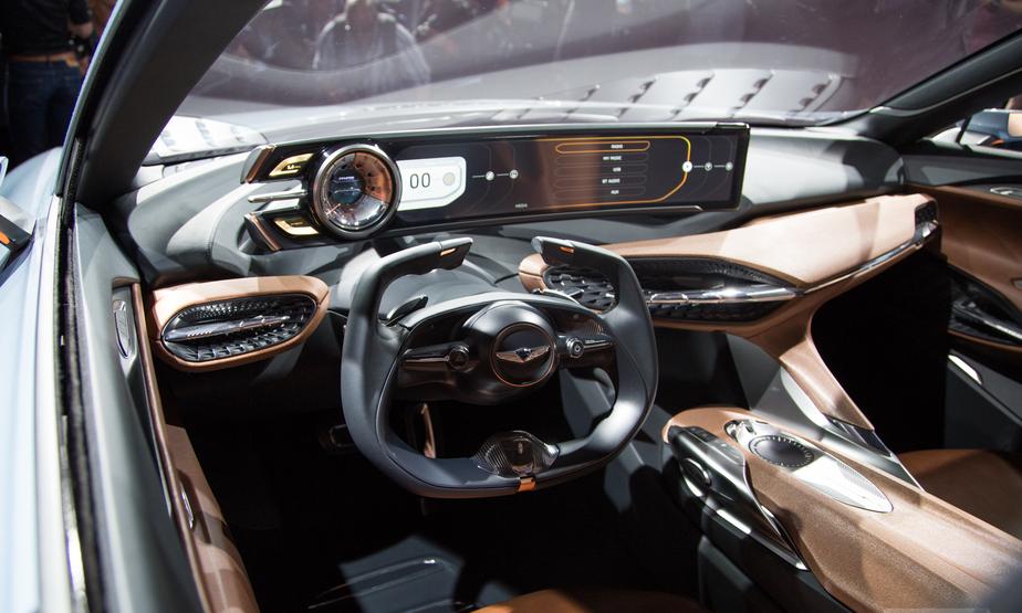 2019 Hyundai Genesis Coupe Interior