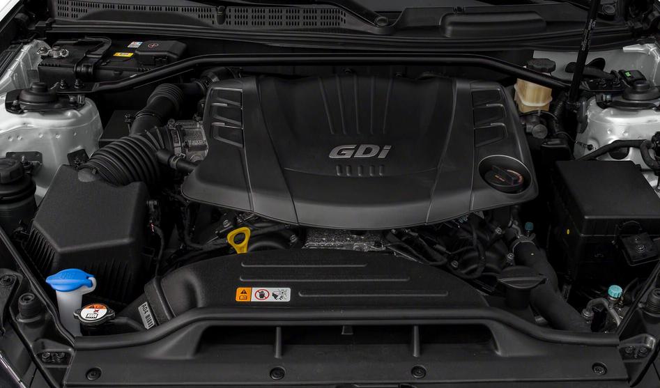 2019 Hyundai Genesis Engine