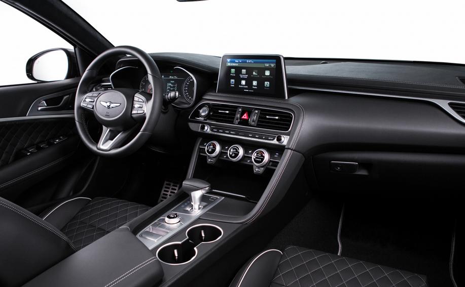 2019 Hyundai Genesis G70 Interior