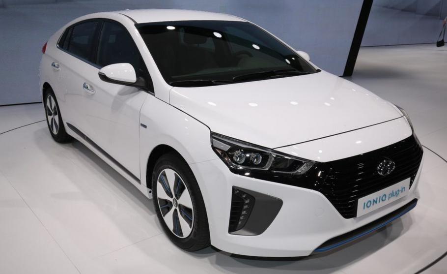 2019 Hyundai Ioniq EV Electric Exterior