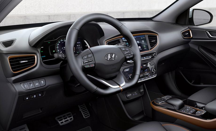2019 Hyundai Ioniq EV Electric Interior