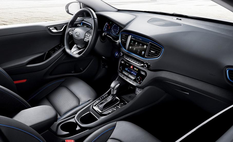 2019 Hyundai Ioniq EV Limited Interior