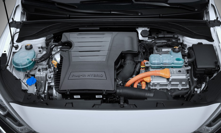 2019 Hyundai Ioniq Electric Engine