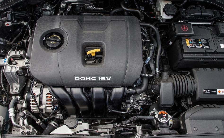 2019 Hyundai Kona Limited Engine