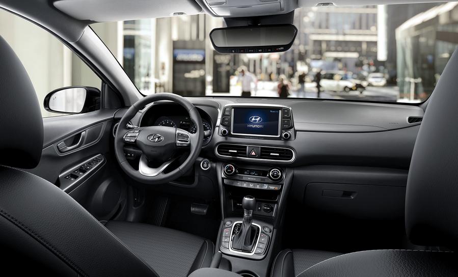 2019 Hyundai Kona Limited Interior