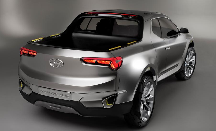 2019 Hyundai Pickup Truck Concept