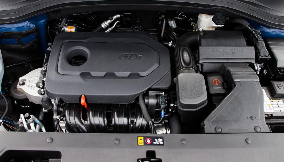 2019 Hyundai Santa Fe 7 Seater Engine