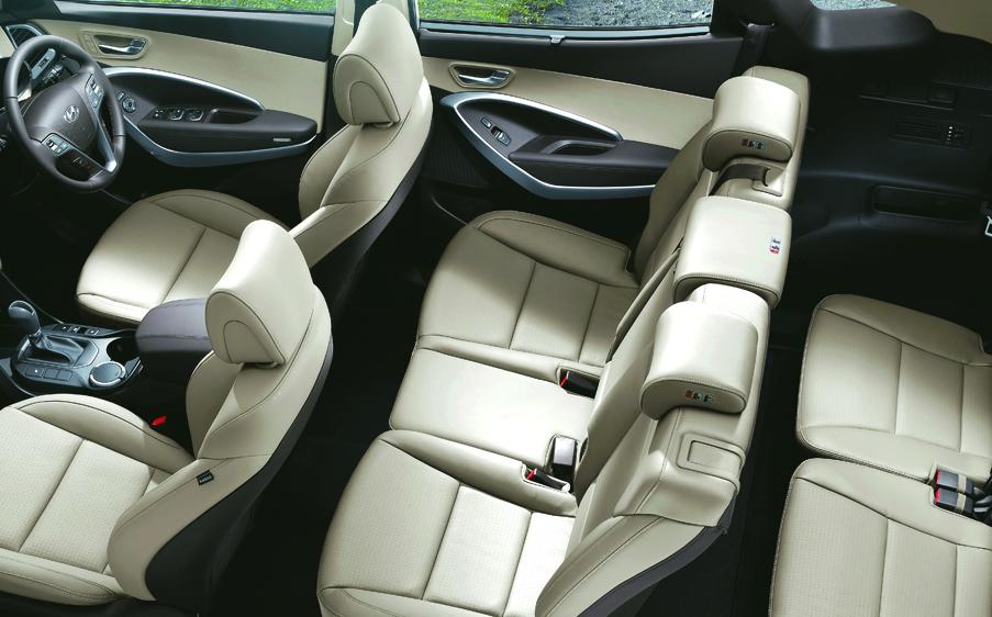 2019 Hyundai Santa Fe 7 Seater Interior