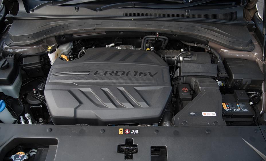 2019 Hyundai Santa Fe Owners Manual Engine