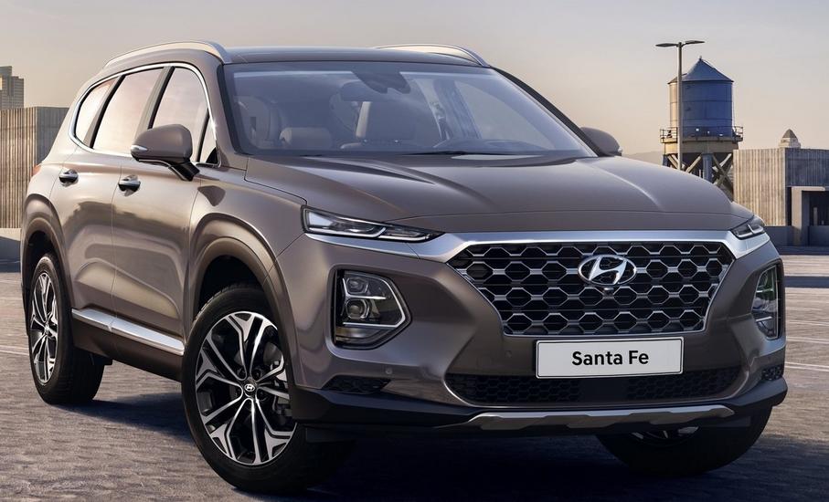 2019 Hyundai Santa Fe SE 2.4 Exterior