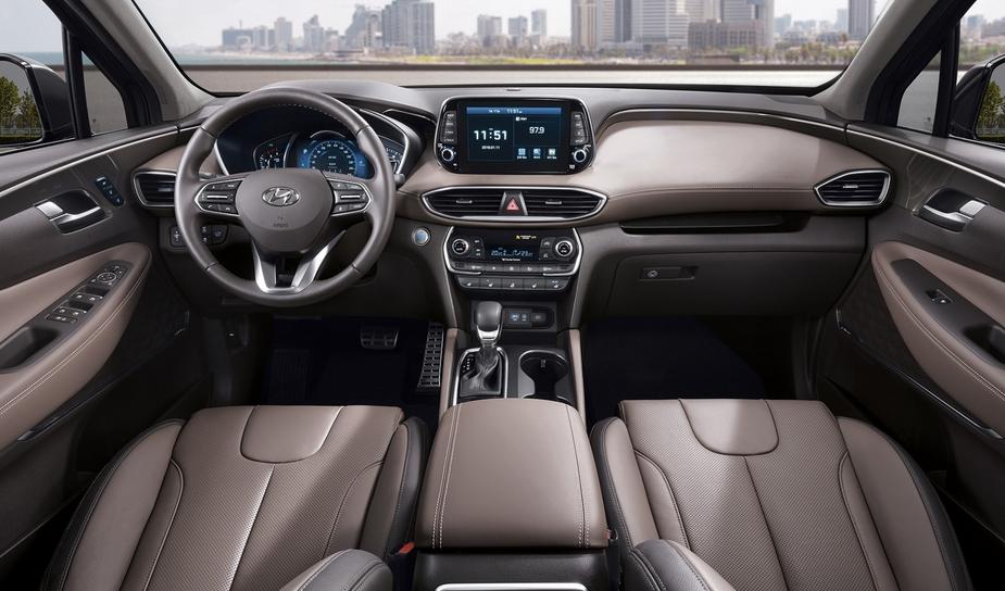 2019 Hyundai Santa Fe SE 2.4 Interior