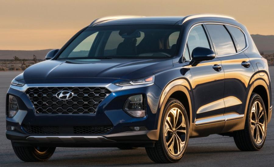 2019 Hyundai Santa Fe SEL 2.4 Exterior