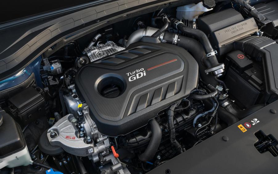 2019 Hyundai Santa Fe XL SE Engine