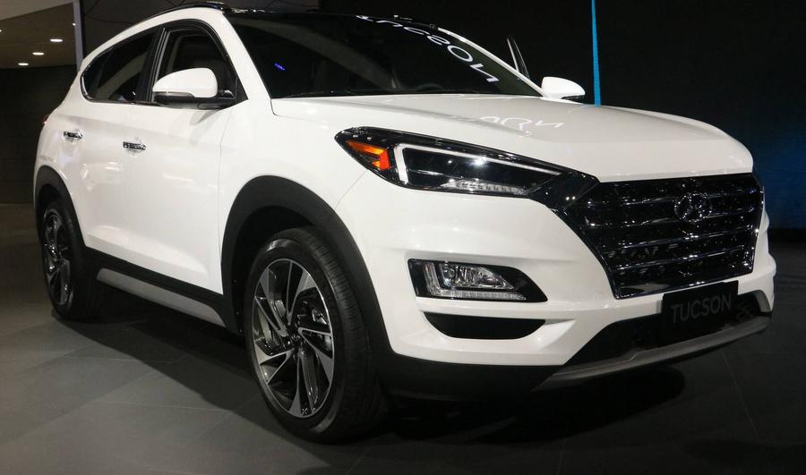 2019 Hyundai Tucson Exterior