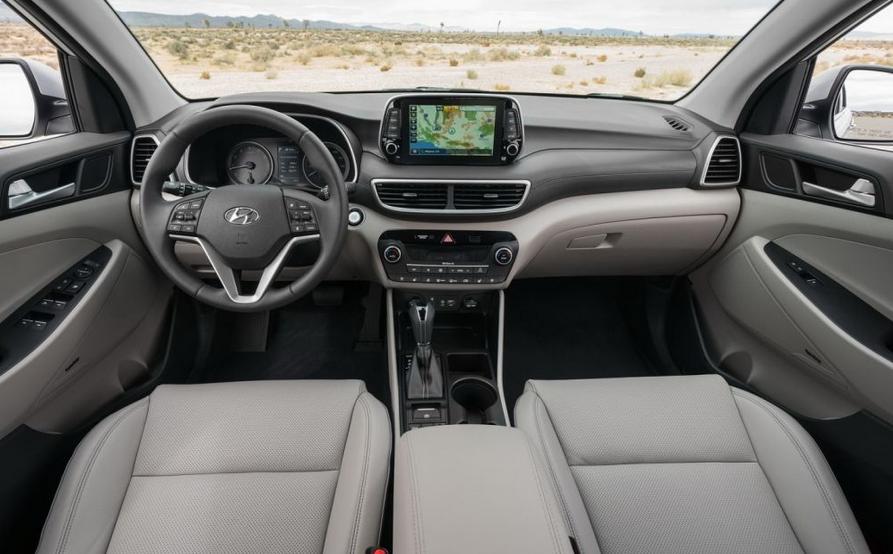 2019 Hyundai Tucson Limited Interior