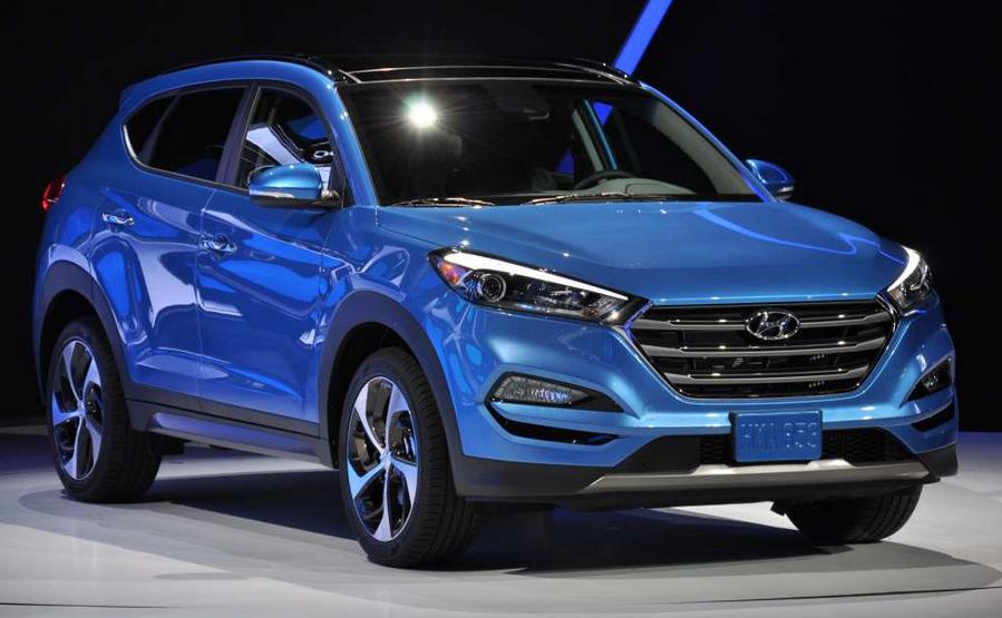 2019 Hyundai Tucson MPG Exterior