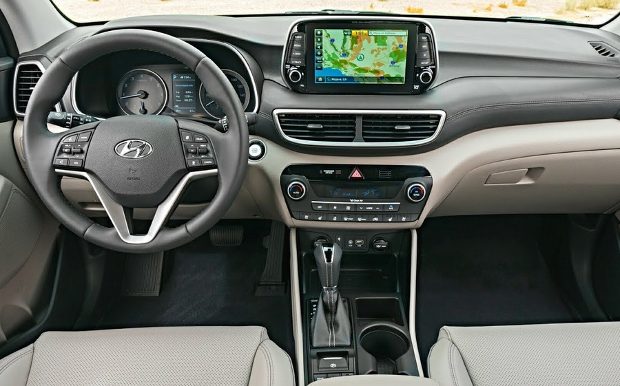 2019 Hyundai Tucson Redesign Interior