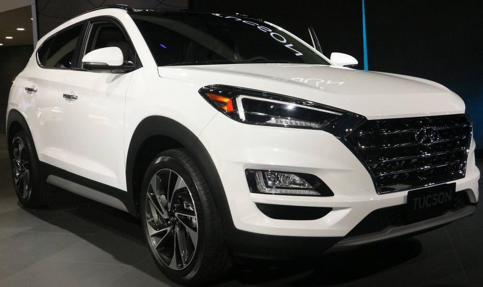 2019 Hyundai Tucson Sport Exterior