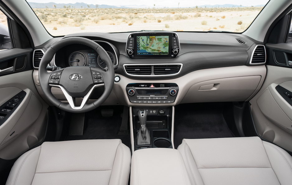 2019 Hyundai Tucson Sport Interior