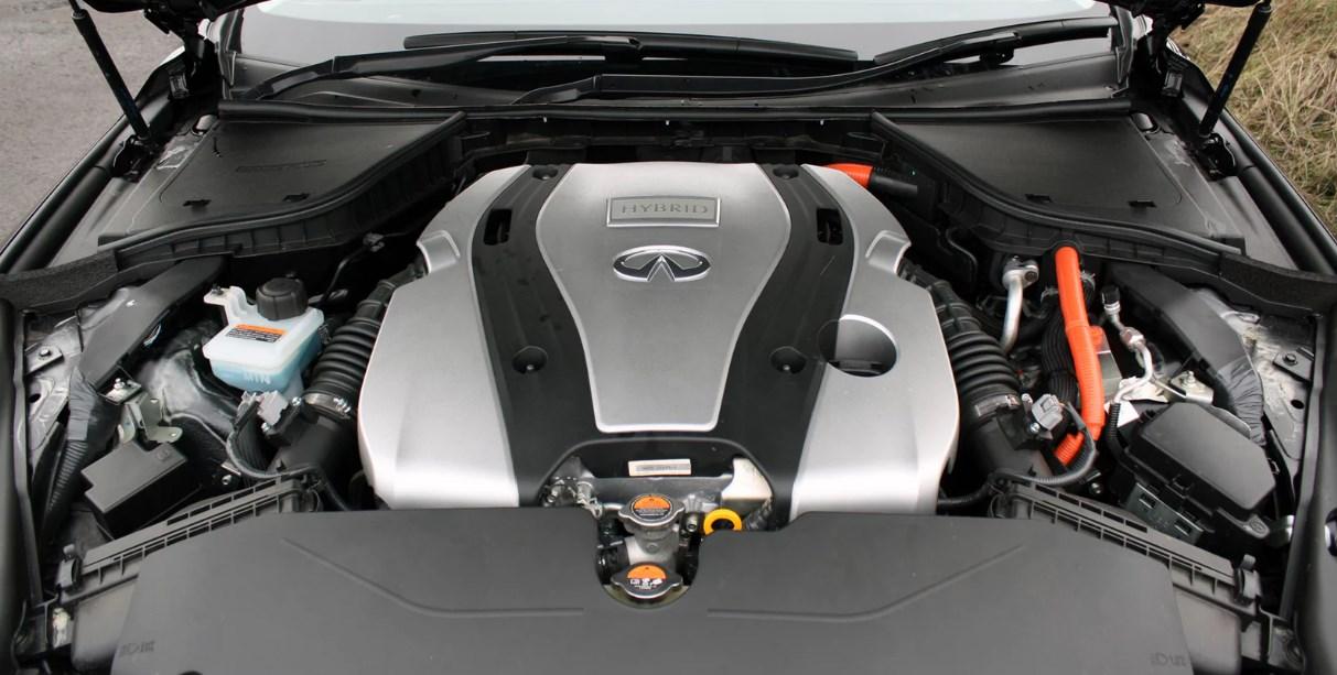 2019 Infiniti Hybrid Q50 Engine